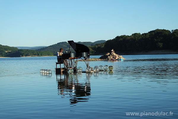 Dimanche 23 juillet 2017à 19 heures : le PianO du lac sur l'étang de Motz -73310 –MOTZ